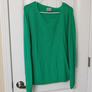 Chico's green comfy sweater